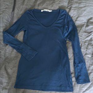Navy Blue Michael Stars 3/4 sleeve